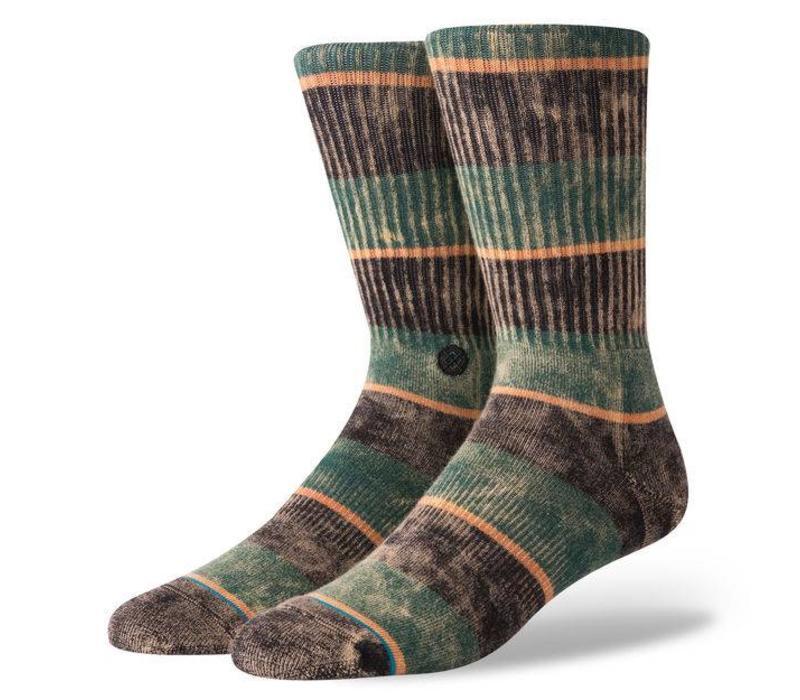 Stance Cord Black Large Socks