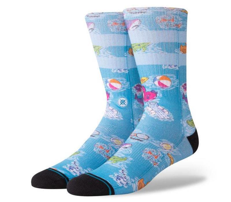 Stance Float Blue Large Socks