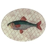 Green Fish, Oval