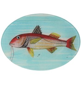 Painted Fish G Oval