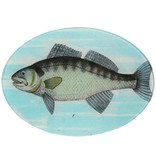 Painted Fish E Oval