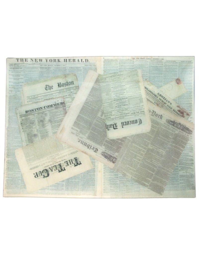 John Derian | Newspapers Tray