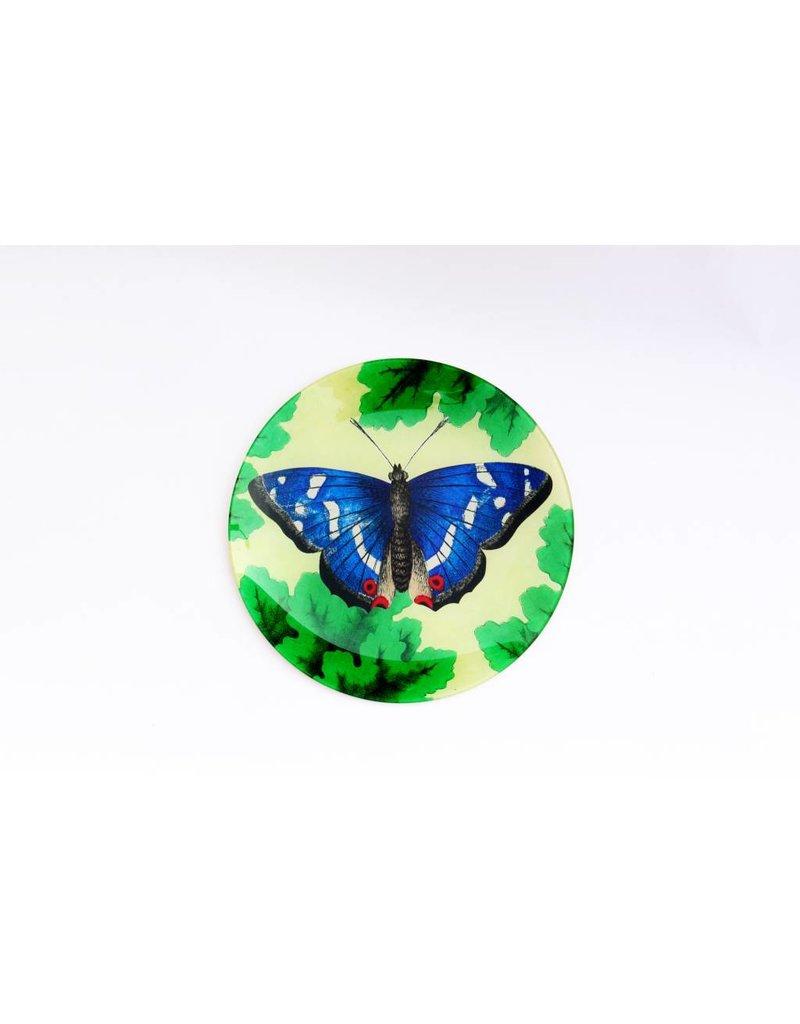 John Derian | Meadow Butterfly, Round