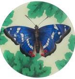 Meadow Butterflies: Blue Round