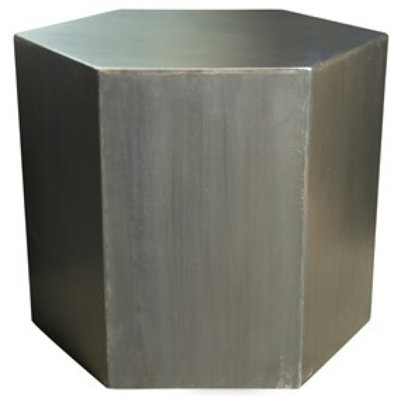 "Metal Side Table 20"""
