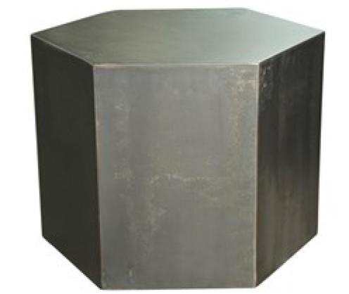 "Metal Side Table 18"""