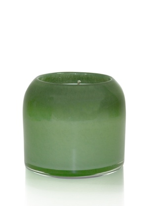 Round Small Eucalyptus & Bamboo Candle