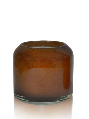 Round Small Amber & Vanilla Candle
