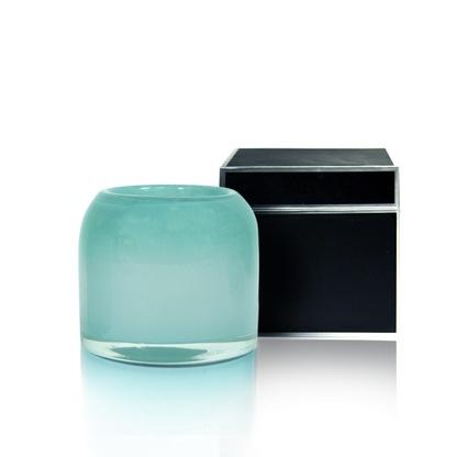 Round Small Lotus & White Tea Candle