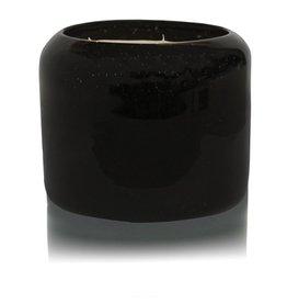 X Large Black Iris and Tonka Candle
