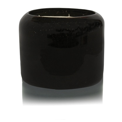 X Large Black Iris and Tonka Candle