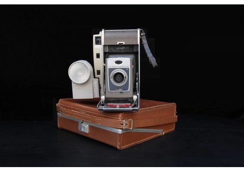 Antique Polaroid with Case, 03