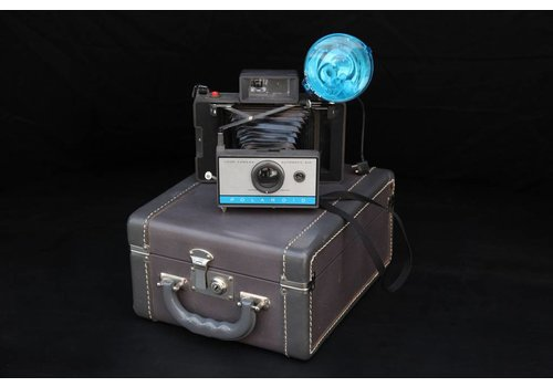 Antique Polaroid with Case, 02