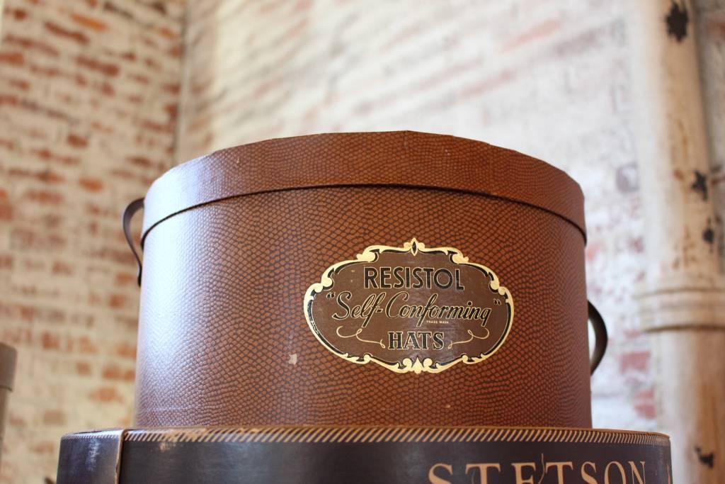 Resistol Hat Box