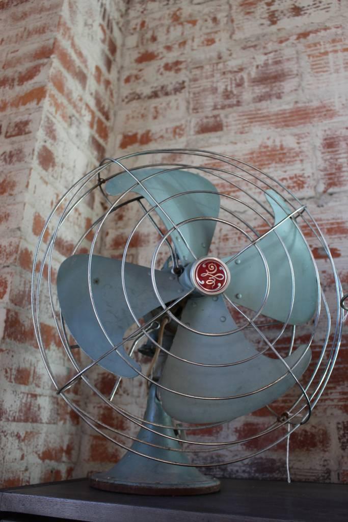 Large Green Fan