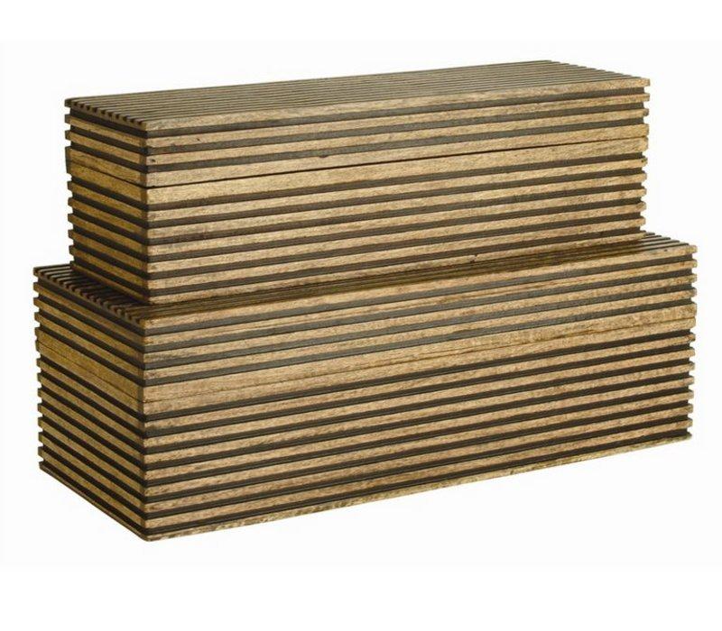 Trinity Box, Brown, Medium