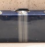Blue Antique Suitcase