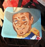 Roy Rogers Sling Stool