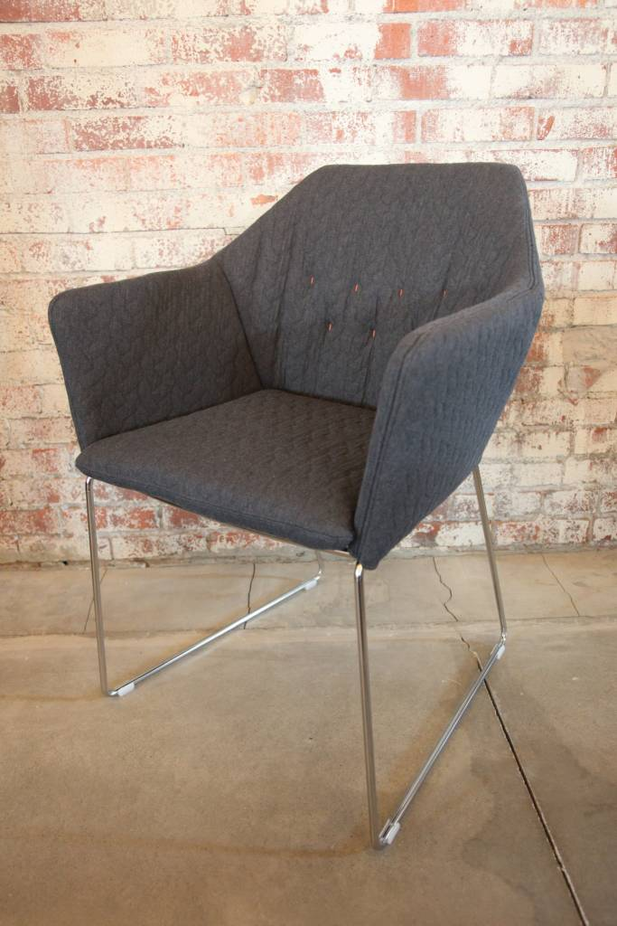 New York Arm Chair Chrome
