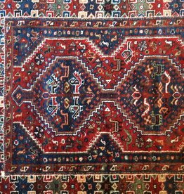 "Red / Blue 5'6"" X 3'8"" Rug"