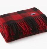 Buffalo Check Throw - Red / Black