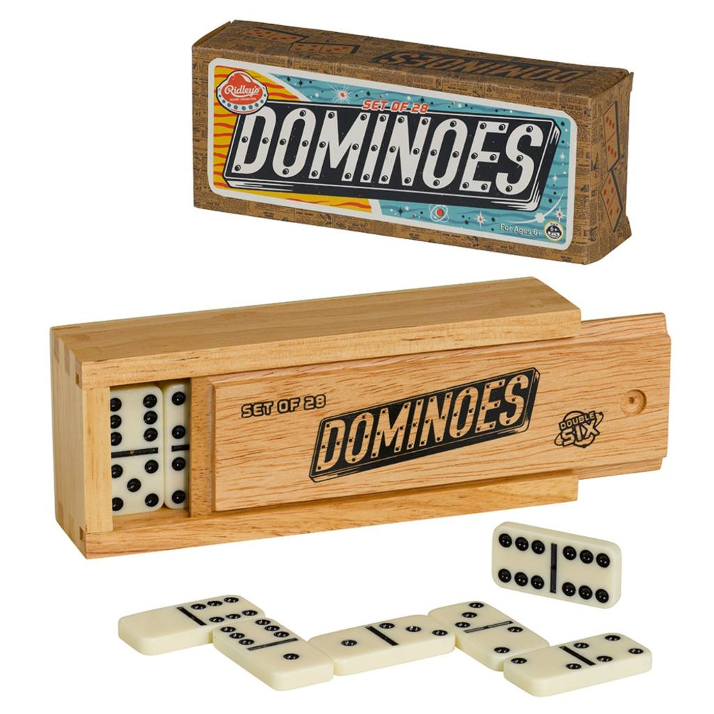 Wood Dominos Set