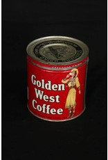 Golden West Coffee Can