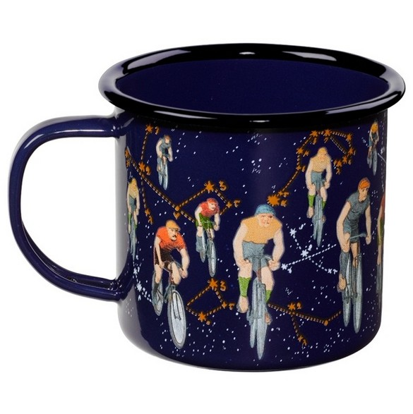 Enamel Mug Bike