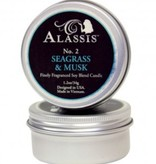 Travel Tin Candle Seagrass & Musk