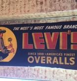 Levi Overalls Banner
