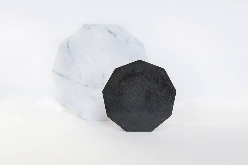 Black Granite Trivet-Nonagon