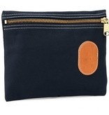 Navy Zipper Bag