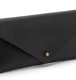 Black Travel Clutch