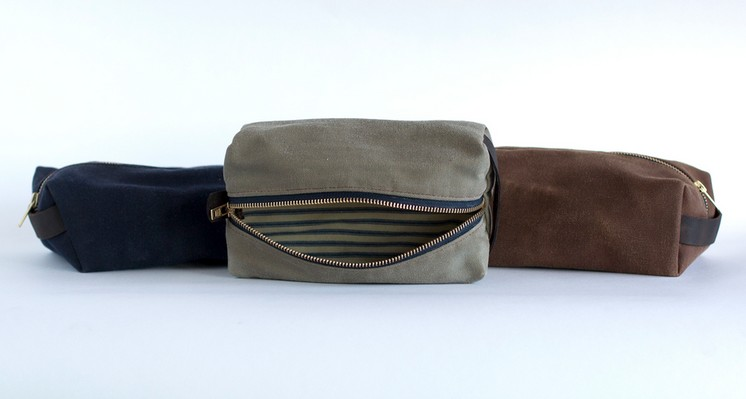 Dopp Kit: Navy