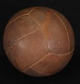 Large Dark Brown Vintage Medicine Ball