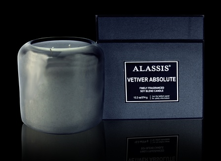 Large Boxed Vetiver Absolute Candle