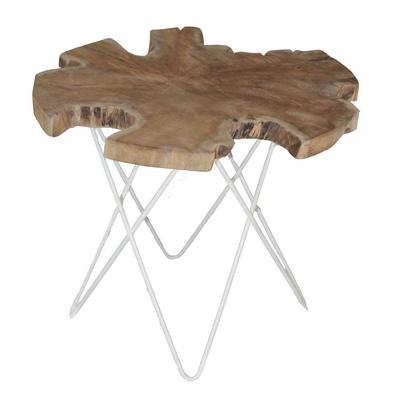 Slice Side Table-White