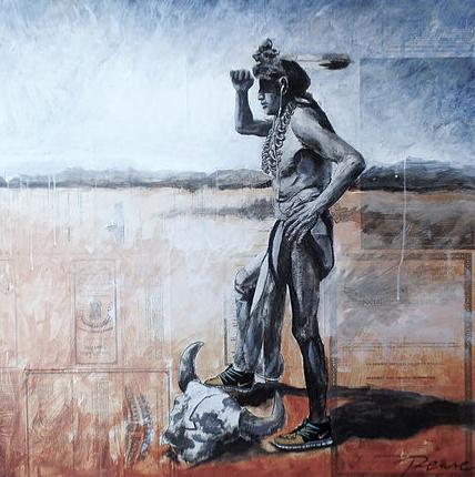 """Spirit of the 7"" Painting 36""x36"" *CS*"