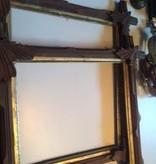 Set of 2 Tramp Art Picture Frames *CS*