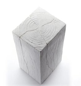 Cube in Plaster, Small