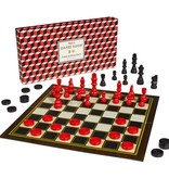Chess & Checkers Metallic
