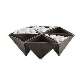 Bronze & Brass Origami Container
