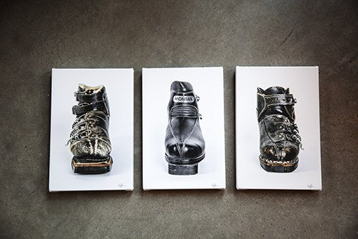Hoffman Ski Boot Print