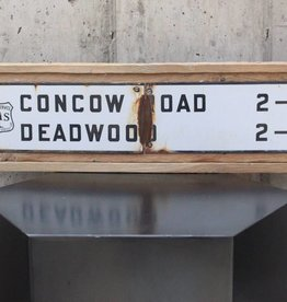 Concow Road Deadwood Sign