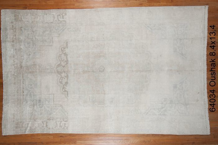 Light grey Oushak Rug- C64034