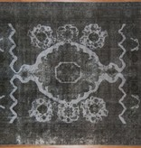 Dark grey Overdyed Rug - 071778