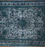Teal/grey Overdyed Rug - 071797