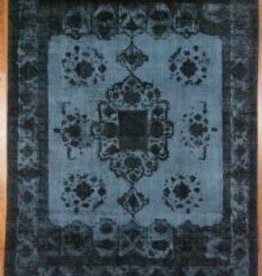 Blue/black Overdyed Rug - 071627