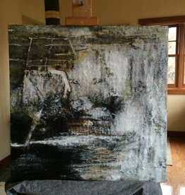 Dark and Sultry: Cashmere 2'x2'