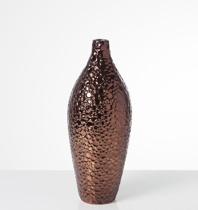 Bubble Copper Vase - Medium